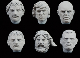 Set de cabezas