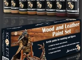 Set de madera y cuero