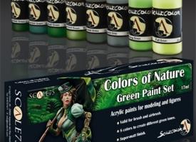 Set de verdes