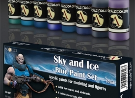 Set de azules
