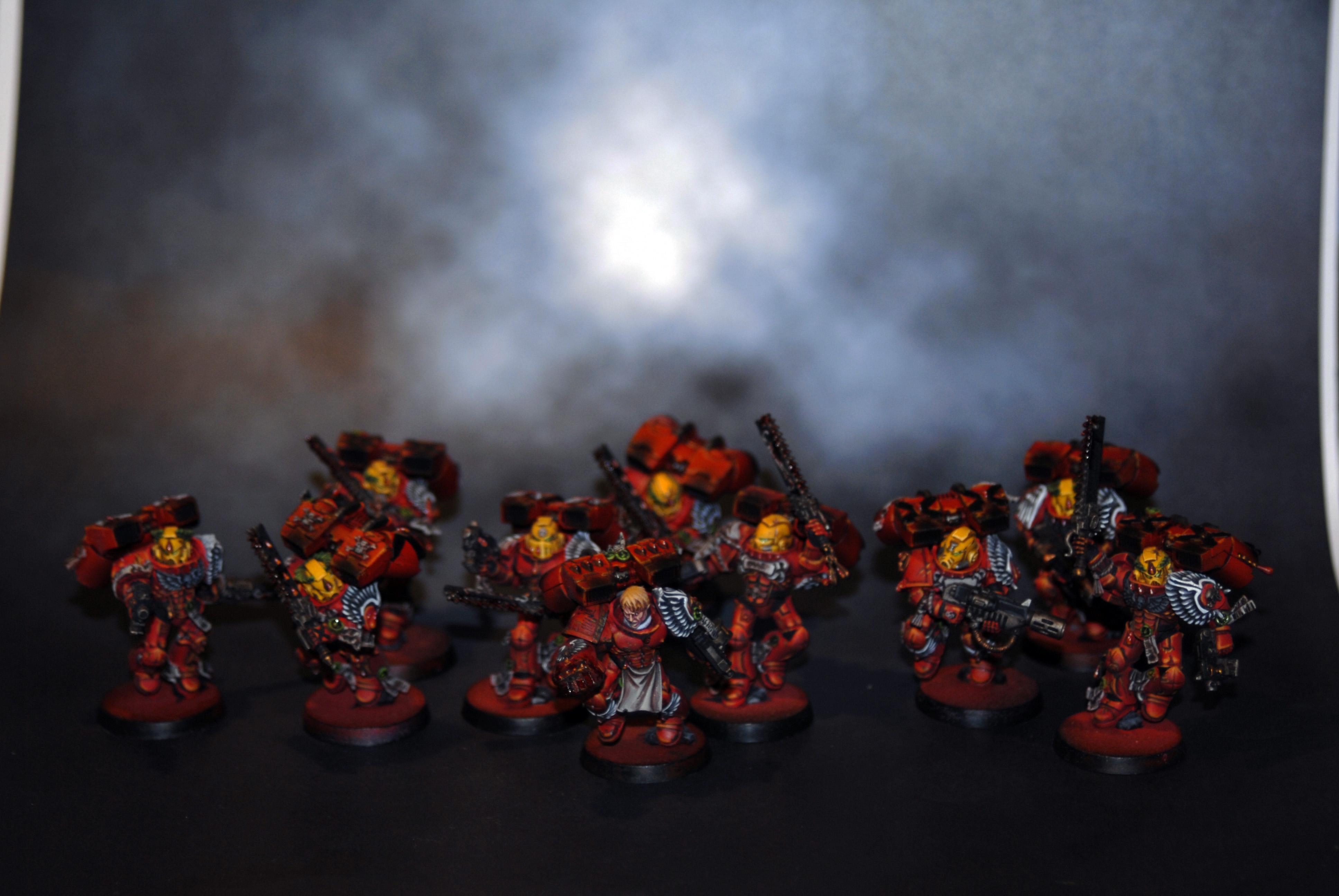 Assault squad blood angels