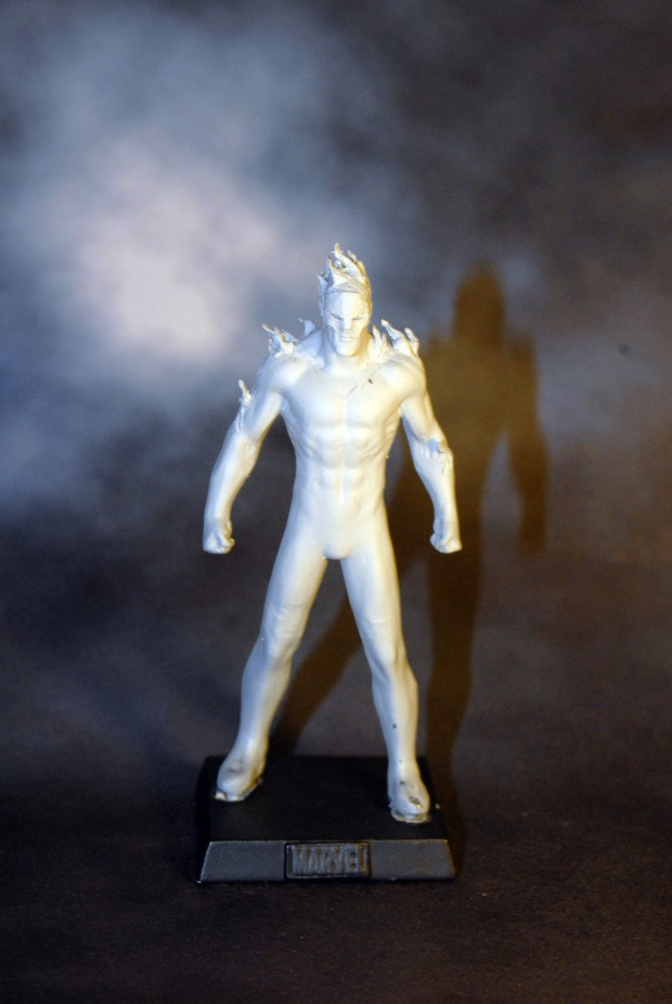 custom marvel sunfire figurine