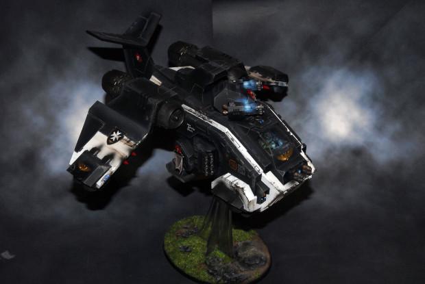 Black templar stormraven