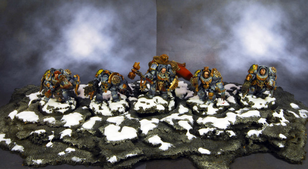 pincel de acero Space wolves