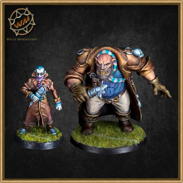 willy miniatures reporteros